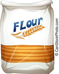小麦粉, パケット