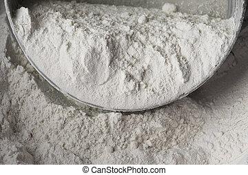 小麦, 未加工, 細部, 小麦粉