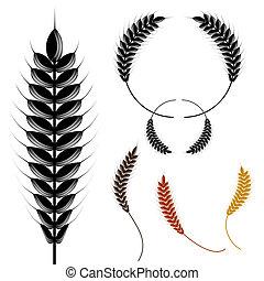 小麦, halftone