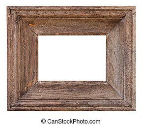小, 寬, 框架, 老, 圖片