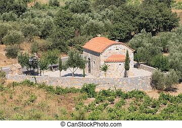 小, 希腊的教堂