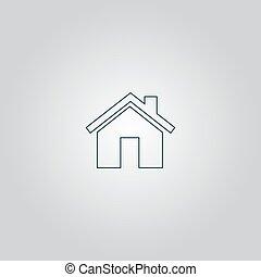 小, 房子