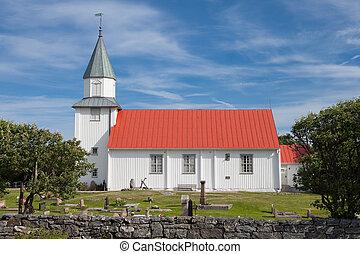 小, 教堂, 在, 瑞典