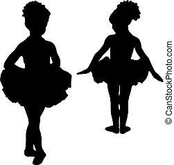 小, 芭蕾舞女演员