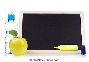 小, 黑板