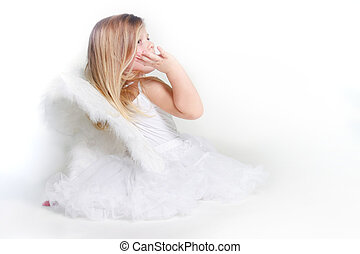 少し天使, 女の子, 打撃, スタジオ