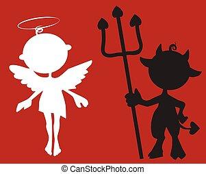 少し天使, 悪魔