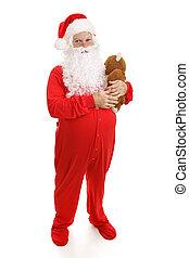就寢時間, 聖誕老人