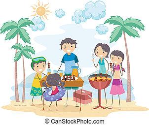 屋外イベント, 家族