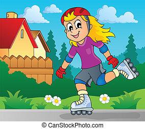 屋外, 主題, 2, スポーツ, イメージ