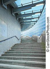 屋外, 階段