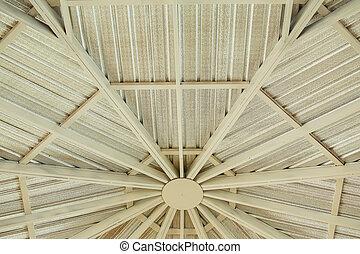 屋根ふき, 金属