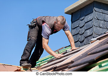 屋根職人, そうする次の(人・もの), ∥, 煙突