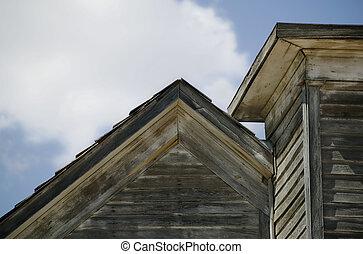 屋根, の, ∥, 古い教会