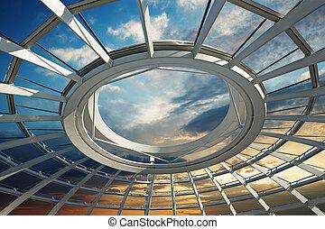 屋根, 未来派, ドーム