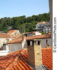 屋根, croatia
