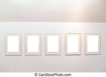 展示物, 芸術, 壁, 博物館, 現代, bl, フレーム, ギャラリー, 空