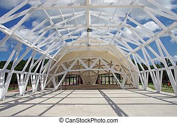 展覽, 帳篷, 建設