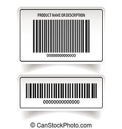 屠夫, barcode, 集合, 標簽