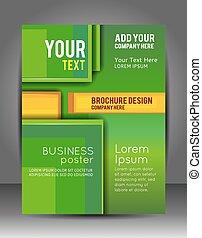層, ビジネス, 抽象的, template., バックグラウンド。, フライヤ, パンフレット, ∥あるいは∥