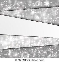 層, 抽象的, 銀, 背景