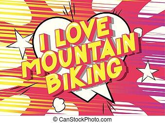 山が自転車に乗る, 愛