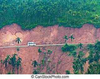 山の道, ミャンマー