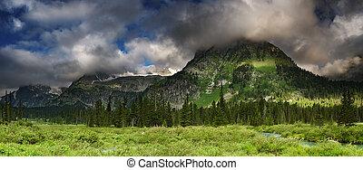 山のpanorama