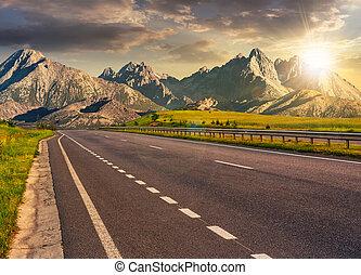 山山脊, tatra, 高速公路