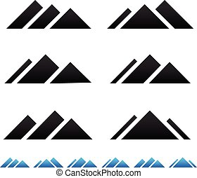 山達到最高峰, pictogramms