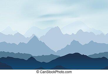 山高峰, 風景, 自然