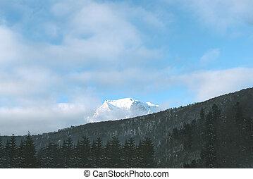 山, ∥で∥, 雪