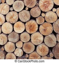 山, の, 木, 木材を伐採する, 貯蔵, ∥ために∥, 産業
