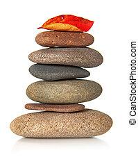 山, の, 禅, 石