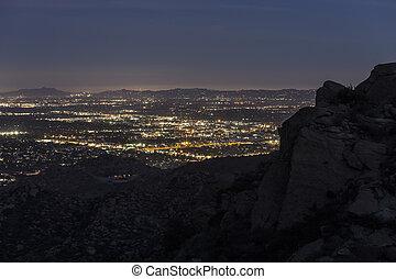 山, アンジェルという名前の人たち, los, 光景