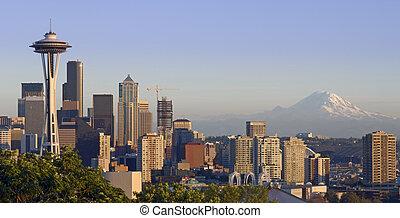 山, シアトル