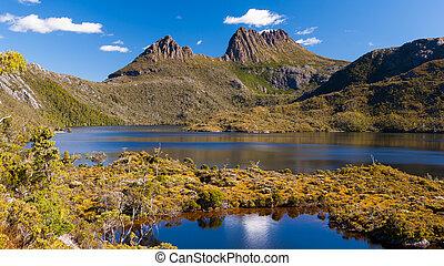 山, タスマニア, 揺りかご