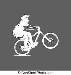 山 バイク, バッジ