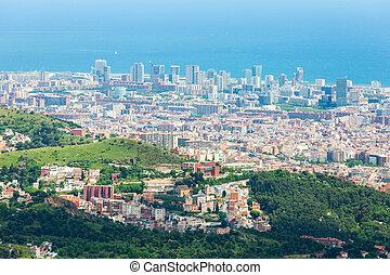 山, バルセロナ, 光景
