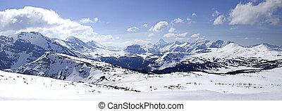 山, パノラマである