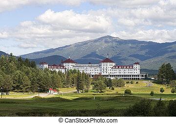 山, ホテル, ワシントン