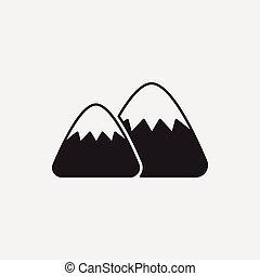 山, 圖象