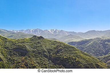 山, 天空, 風景