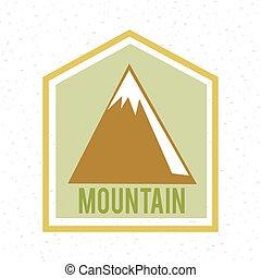 山, 標簽