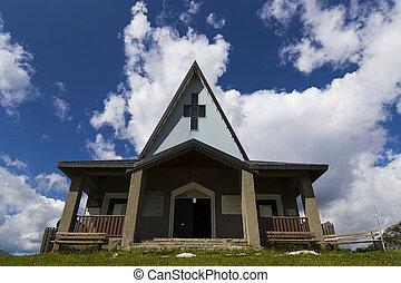 山, 現代, 教会