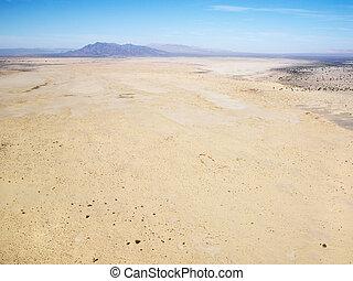山。, 砂漠