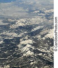 山, 空気の 写真