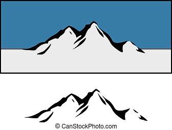 山, 設計