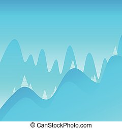 山, 遠足, 裝飾, 背景, 攀登, 風景