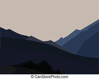 山, 風景